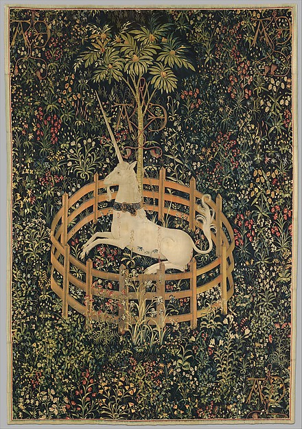 """The Unicorn in Captivity"" courtesy of www.metmuseum.org"