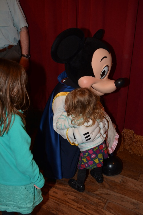 Mickey Mouse Hugging Aeryn!