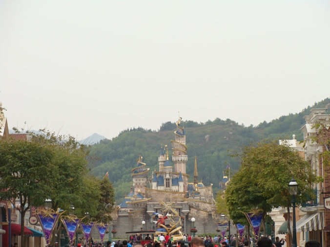 Disneyland Hong Kong Castle